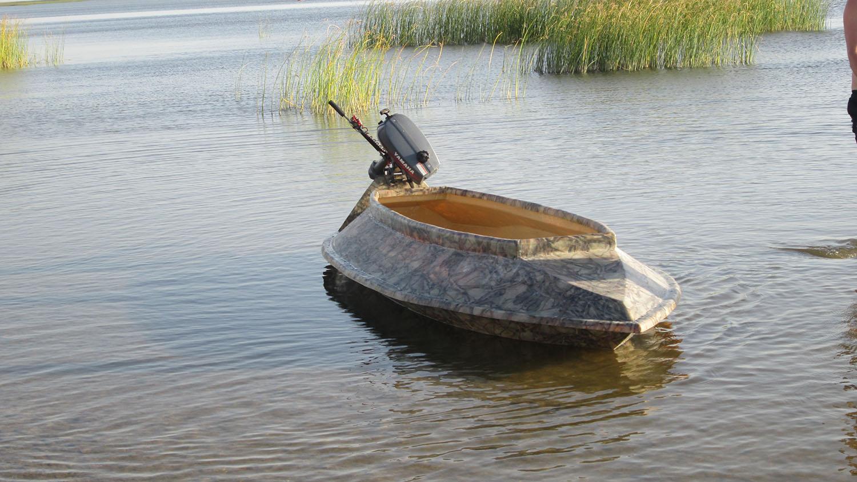 лодка скрадок для рыбалки купить