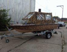 купить пластиковую лодку под мотор