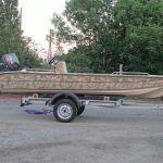 Моторная лодка Тримаран 4.60