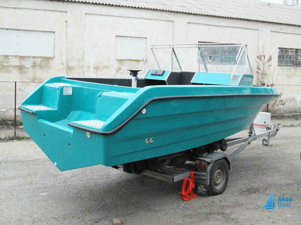 скоростная лодка касатка
